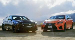 [VIDEO] 2016 Cadillac CTS-V vs. 2016 Lexus GS F
