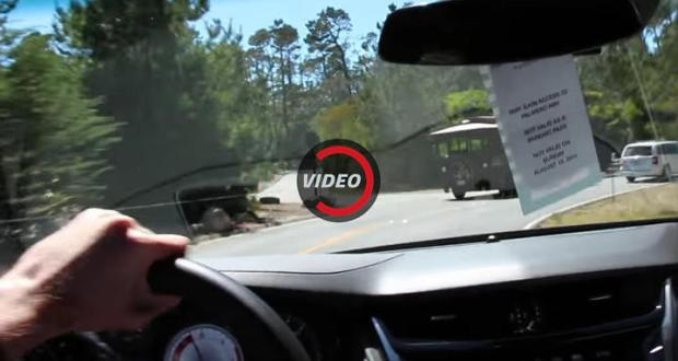 Cadillac Salesman Loses Control of CTS-V During Test Drive