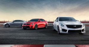ATS-V Coupe 2016-2019 [left], ATS-V Sedan 2016-2019 [middle], CTS-V 2016-2019 [right]