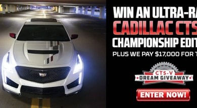 Win a 2019 CTS-V Championship Edition from Dream Giveaway!