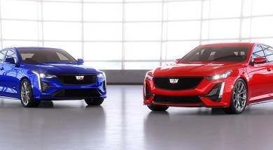 2021 Cadillac CT4-V and CT5-V