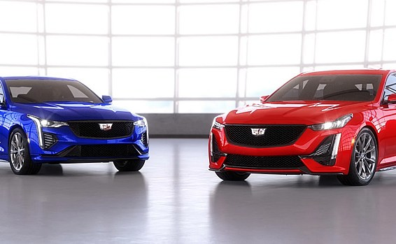 2021 Cadillac CT4-V and CT5-V