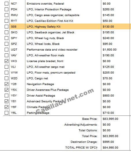 2022 Cadillac CT5-V Blackwing Pricing