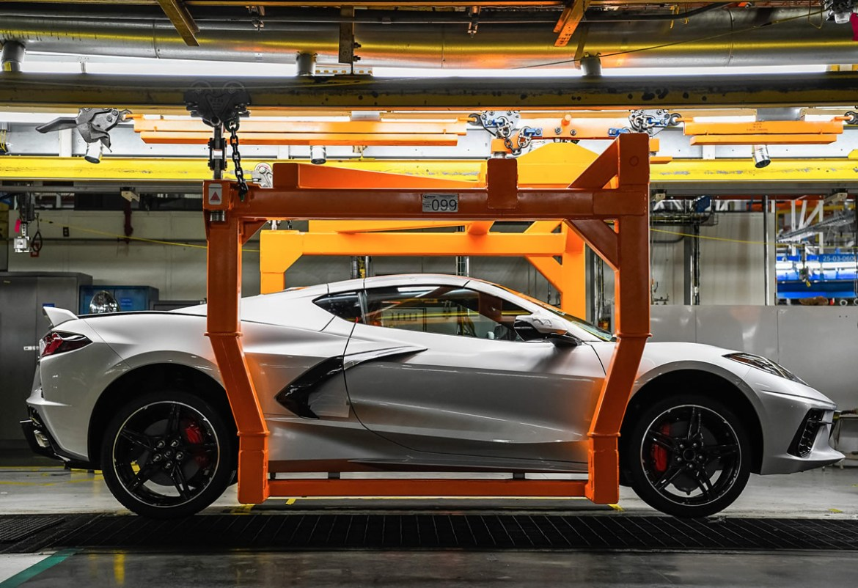 2021 Corvette - Bowling Green Corvette Assembly Plant