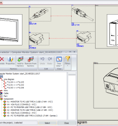 add items to a new harness inside solidworks electrical schematics in order to do this you need to ctrl select hold down the control key and  [ 1367 x 720 Pixel ]