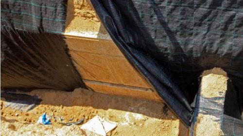 Zona arqueológica donde se piensa que está la tumba de Alejandro