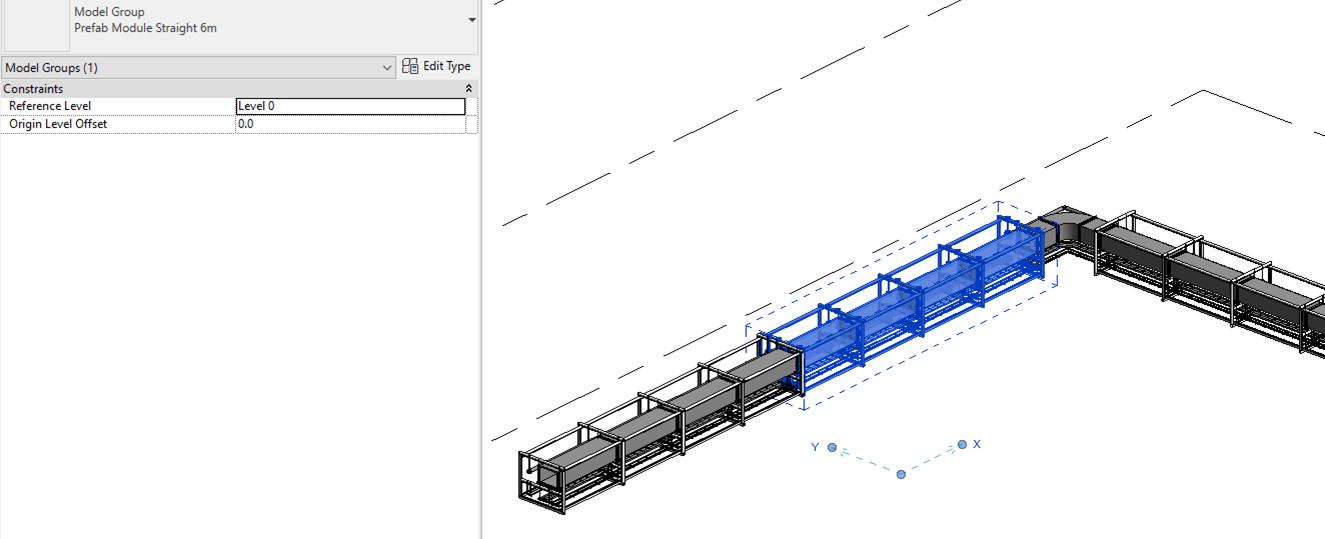 Revit 2019 Prefabricated MEP Module
