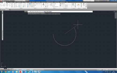 small resolution of controlling the direction of an arc autocad 2014
