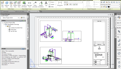 small resolution of autocad plant 3d 2014 first look