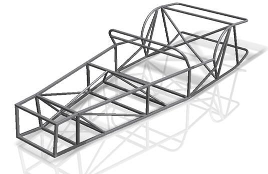 Designing a Lotus 7 replica using Inventor 2011 Frame