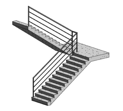 Revit 2012 - Stairs and Railings