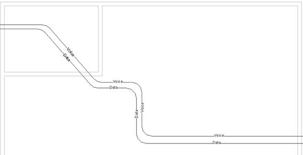 Annotating cable and wire service types in Revit 2015