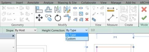 2 way intermediate wiring diagram understanding simple diagrams revit 2016 advanced railing adjustment settings cadline community the height is adjusted by choosing correction option this also has two choices second of which allows you to enter an amount