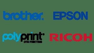 brother epson polyprint ricoh DTG printing