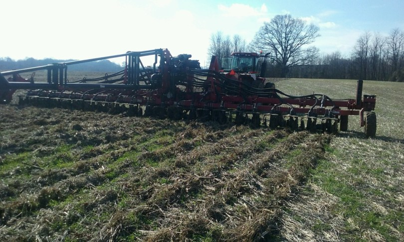 40' Cadman Injector at Tosh Farms in Henry Tennessee