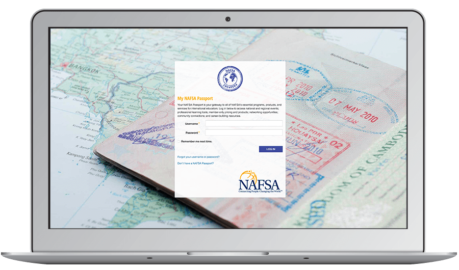 NAFSA's first priority was providing members with a seamless login process when they signed into the Scorecard to submit a presentation proposal. This accomplishes consistent branding and an easy user experiences.