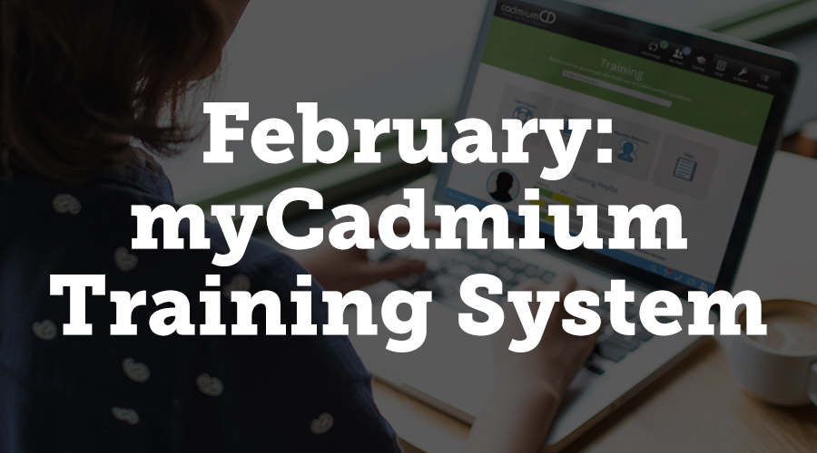 Accessible from the myCadmium dashboard, the training system includes user guides, training videos, monthly webinars, and a glossary related to CadmiumCD products.