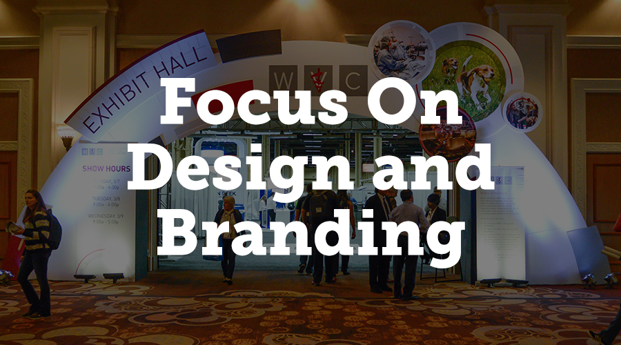 This means using eye-catching designs, but also established brand colours, logos and slogans to boost recognition.