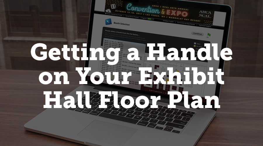 Managing your exhibit hall floor plan can be an onerous task, but we've designed Exhibit Harvester to make it much easier on you. You can easily create booths and add to your existing floor plan. If you've sold out and have a waiting list for exhibit space, you can add additional booths from the same management screen easily, so you can sell more space.