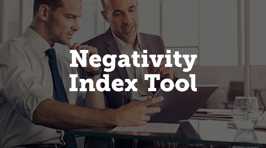 Event managers can review collected comments on sessions with the Negativity Index Tool. This tool is a very useful feature that allows you to automatically scan long response answers in evaluations for inappropriate or offensive responses so you can deal with those before reports are sent out to your speakers.