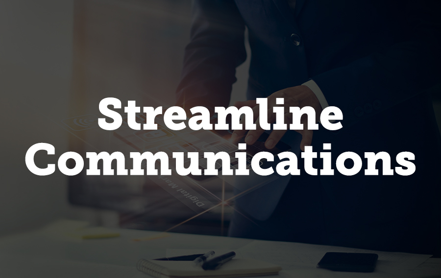It's a time consuming task to use a separate communications system from your exhibitor management platform. Expo Harvester Pro® eliminates the need for a separate system, since communications are built in.