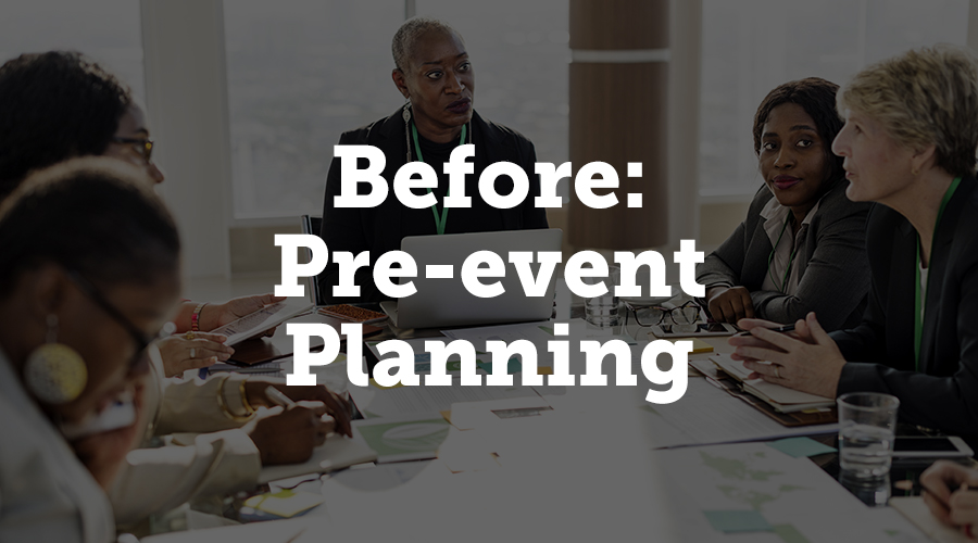As the foundation of your event concept, pre-event planning is probably one of the most crucial stages, as everything you do or don't do at this early point will impact the execution and attendee experience on the day.