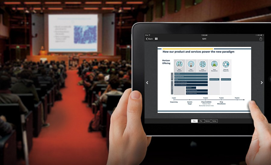 At this point, a mobile app is pretty much a must-have for any event. Attendees expect to have the schedule and exhibitor information at their fingertips, and since the vast majority of people carry smart phones today, a mobile app is the easiest way to get that data to your attendees. CadmiumCD first launched eventScribe in 2011 and gave it a major overhaul in 2015. Today, eventScribe is an excellent choice, particularly for educational conferences. Let's take a look at some of the features that make eventScribe work so well for branding, ease of use, and attendee engagement.