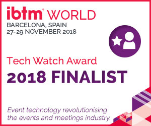 CadmiumCD was included on the 2018 shortlist for the IBTM Tech Watch Award, which announces one final winner each year after a pitch competition and people's choice voting ceremony during IBTM World in Barcelona, Spain.