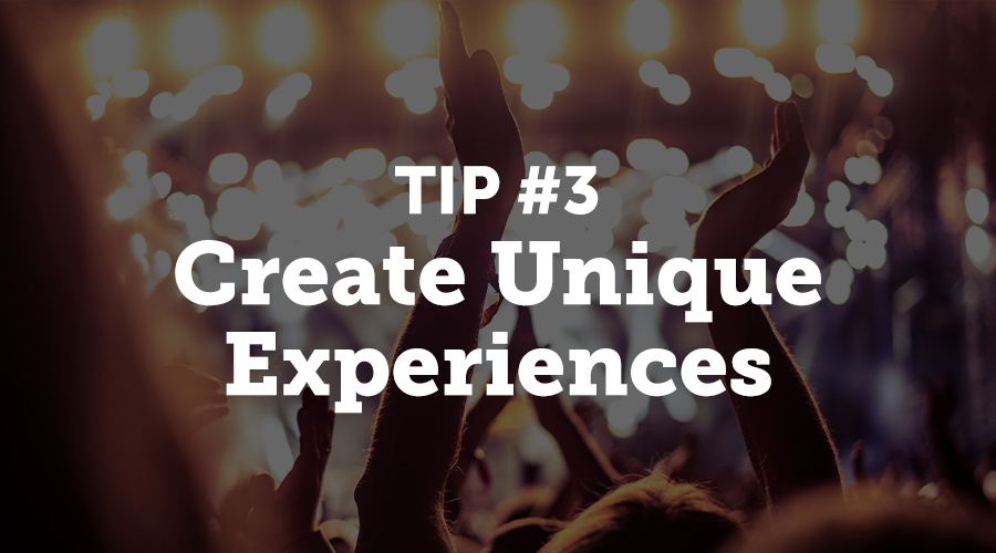 Games, raffles, and special activities are a great way to engage your event community. Virtual reality (VR) and augmented reality (AR) are some of the most technologically savvy ways to enhance your event.