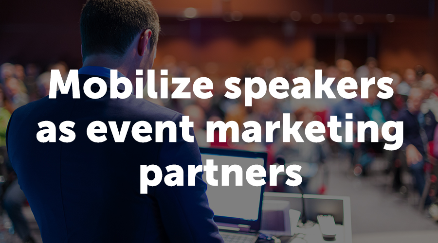 Rachel Stephan's Number 1 Tip: Mobilize Speakers