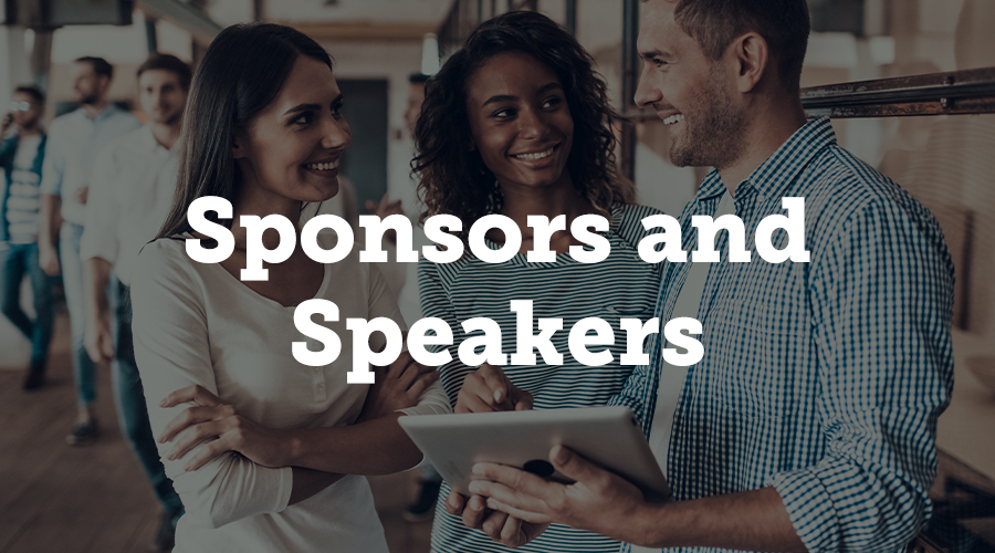 Sponsors and Speakers