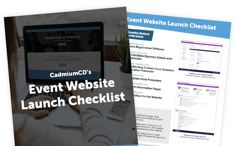 Event Website Launch Checklist PDF Image