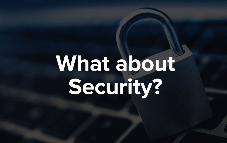 Whenever you communicate electronically, doing so securely is paramount. The following mechanisms are supported to secure access and the data.