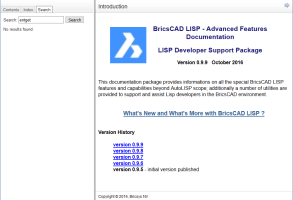 BricsCAD documentation – a tale of three systems – part 3