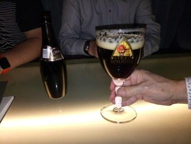 Belgian beer. Mmmmm...