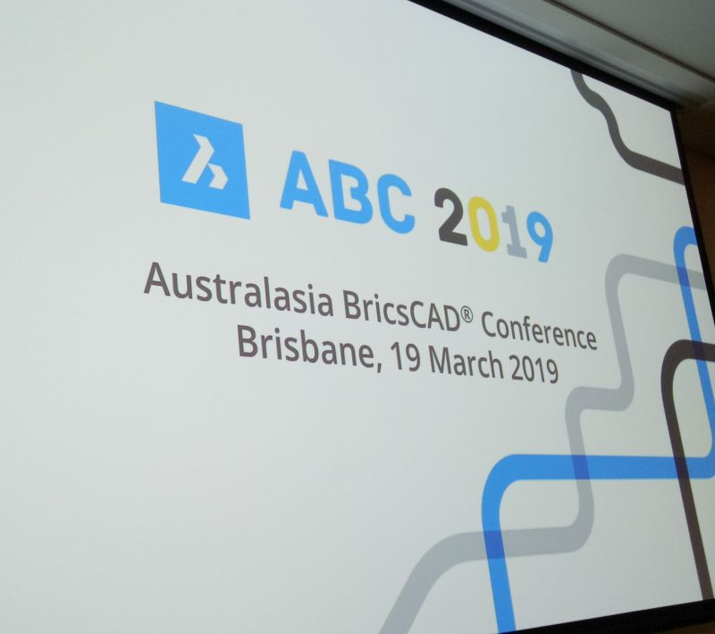 What happened at the Australasia BricsCAD Conference 2019