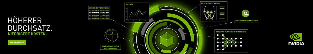 CADnetwork CAD Workstations und Renderfarm Server - NVIDIA Tesla GPU Server und GPU Workstations