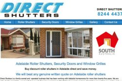 Cadogan and Hall | Direct Shutters Website