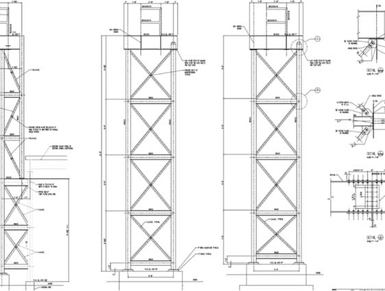 Structural Drafting Services: 2D CAD Drawings, Structural