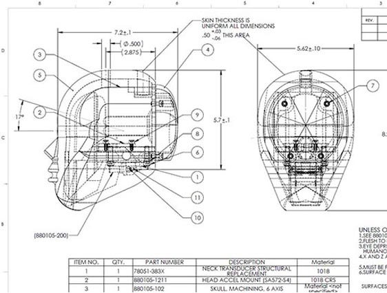 Mechanical CAD Drafting Services, AutoCAD & Solidworks
