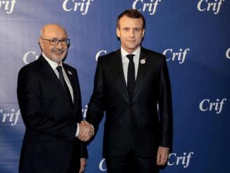 Agencia AJN.- Emmanuel Macron lo anunció en la cena tradicional del Consejo Representativo de Instituciones Judías en Francia (CRIF).
