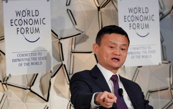 Jack Ma, fundador de Alibaba. Foto: REUTERS / Arnd Wiegmann