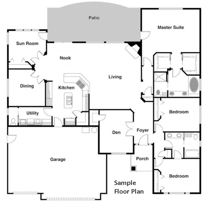 Floor Plan Diagrams using CAD Pro