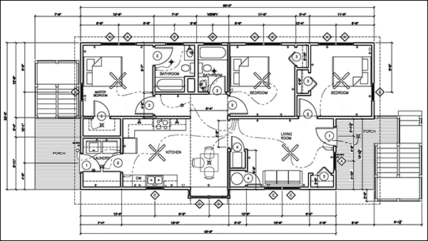 Commercial Electrical Blueprints