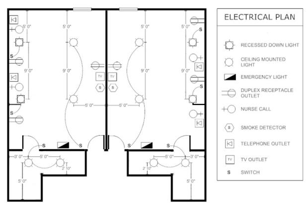 ceiling fan electrical plan symbol