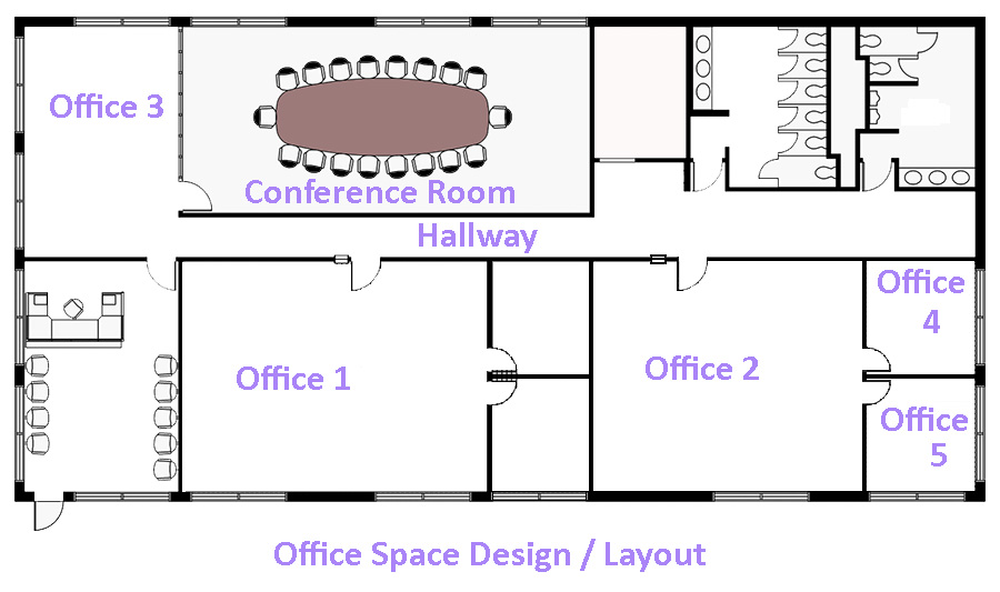 Commercial Drawings Office Layouts Office Design Software