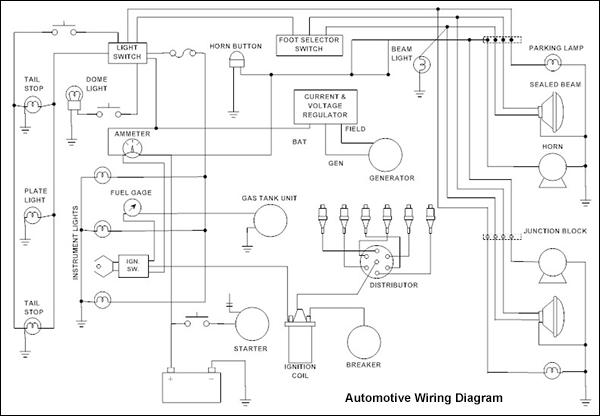 Cad Drawing Wiring Diagram