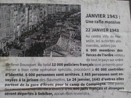 Affiche mémoire 5 - quartier Saint-Jean - Marseille 2e