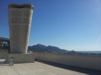 Toit-terrasse 1 - La Cité radieuse - Le Corbusier Marseille