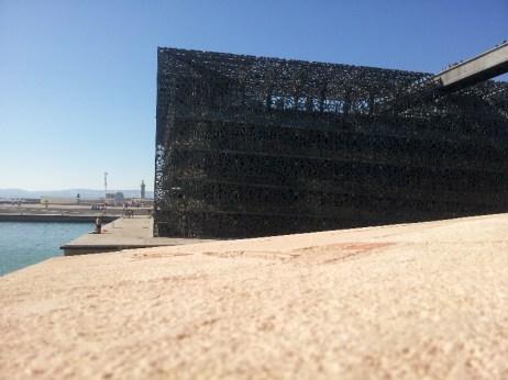 Le Mucem, face Est - Marseille 2e